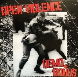 OPEN VIOLENCE - DEMO + BONUS - LP-SONDEREDITION - schwarz