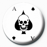 Button - Ace Of Spades