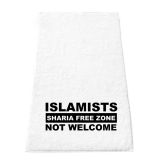 Handtuch - Islamists not Welcome