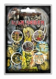 Button Pack - Iron Maiden - Early Albums