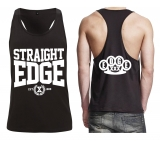 Muskelshirt Racer Back - Straight Edge